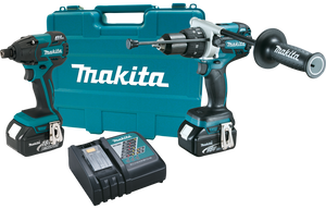 Makita XT257M-R 18V LXT® Lithium‑Ion Brushless Cordless 2‑Pc. Combo Kit, (4.0Ah), (Reconditioned) - ToolSteal.com