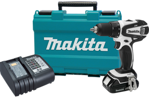 Makita XFD01WSP-R 18V LXT Lithium-Ion Compact 1/2 in. Cordless Drill Driver Kit, Reconditioned