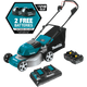 Makita XML03PT1 Lawn Mower Kit with 4 Batteries (5.0Ah) (New) - ToolSteal.com