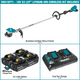 Makita XRU15PT1 18V X2 (36V) LXT® Lithium‑Ion Brushless Cordless String Trimmer Kit with 4 Batteries (5.0Ah) (New) - ToolSteal.com