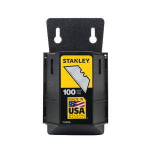 Stanley 11-921A Heavy Duty Utility Blades with Dispenser, 100 Blades (New)