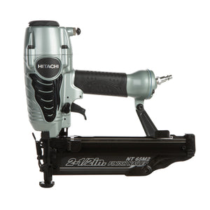 "Hitachi NT65M2(S) 2-1/2"" 16-Gauge Finish Nailer with Air Duster, (Reconditioned) - ToolSteal.com"