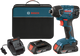 Bosch 25618-02 18V 1/4 In. Hex Impact Driver Kit New