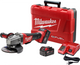 Milwaukee 2780-22 M18 FUEL 4-1/2 in. / 5 in. Grinder, Paddle Switch No-Lock Kit New