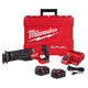 Milwaukee 2821-22 M18 FUEL Sawzall Reciprocating Saw - 2 Battery XC5.0 Kit New