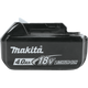 Makita BL1840B 18-Volt LXT® Lithium-Ion High Capacity Battery Pack 4.0Ah w/Fuel Gauge  [Open Box], (New)