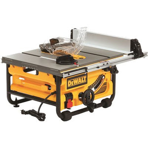 DeWALT DWE7480R 15 Amp Corded 10 in. Compact Job Site Table Saw with Site-Pro Modular Guarding System, (Reconditioned) - ToolSteal.com