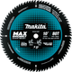 "Makita B-66977 10"" 80T Carbide‑Tipped Max Efficiency Miter Saw Blade (New) - ToolSteal.com"