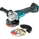 "Makita XAG04Z 18V LXT® Lithium‑Ion Brushless Cordless 4‑1/2"" / 5"" Cut‑Off/Angle Grinder (Tool Only)(New) - ToolSteal.com"
