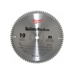 "Milwaukee 48-40-4168 10"" Non-Ferrous Metal Cutting Circular Saw Blade (New) - ToolSteal.com"