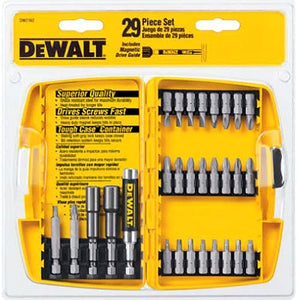DeWalt  DW2162 29-Piece Screw and Nutdriving Set w/ToughCase, (New) - ToolSteal.com