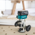 Makita XTR01T7-R 18V LXT® Lithium‑Ion Brushless Cordless Compact Router Kit (5.0Ah) (Reconditioned)