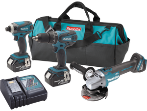Makita XT324 18V LXT 3-Piece Lithium-Ion Cordless Combo Kit, (Reconditioned) - ToolSteal.com