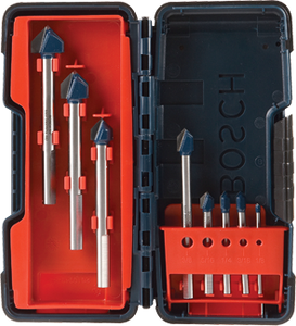 Bosch GT3000 8 Piece Glass and Tile Bit Set New