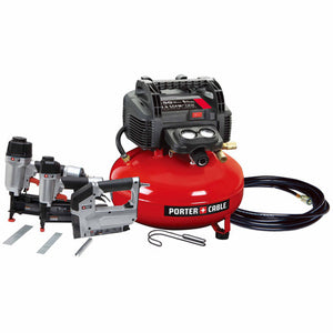 Porter Cable PCFP12234R 3-Tool and Compressor Combo Kit, (Reconditioned) - ToolSteal.com