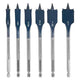 Bosch DSB5006P DareDevil Six Pc. Spade Bit Set w/Pouch, (New) - ToolSteal.com