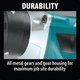 Makita XSF03Z-R 18V LXT® Lithium‑Ion Brushless Cordless 4,000 RPM Drywall Screwdriver, [Tool Only], {Reconditioned) - ToolSteal.com