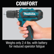 Makita CT226-R 12V max CXT Li‑Ion Cordless 2‑Pc. Combo Kit, Reconditioned