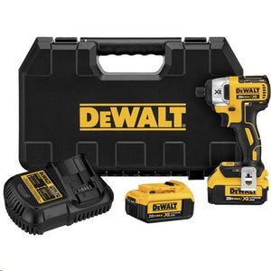 "DeWALT DCF886M2 20V MAX XR Lithium Ion Brushless 1/4"" Impact Driver Kit, (New) - ToolSteal.com"