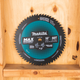 "Makita B-66961 10"" 60T Carbide‑Tipped Max Efficiency Miter Saw Blade (New) - ToolSteal.com"