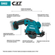 Makita SH02Z-R 12V Max CXT Lithium‑Ion Cordless 3‑3/8 in. Circular Saw, Tool Only, Reconditioned