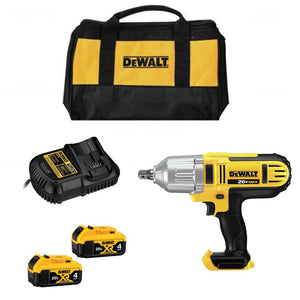"DeWALT DCF889M2R 20V MAX* 1/2"" High Torque Impact Wrench Kit (4.0Ah), (Reconditioned) - ToolSteal.com"
