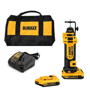 DeWALT DCS551D2 20V MAX* Drywall Cut-Out Tool Kit (2.0ah), (New) - ToolSteal.com