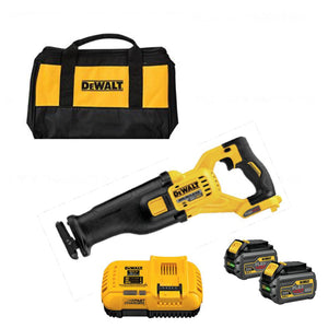 DeWALT DCS388T2 60-Volt MAX Lithium-Ion Cordless Brushless Reciprocating Saw Kit, (New) - ToolSteal.com