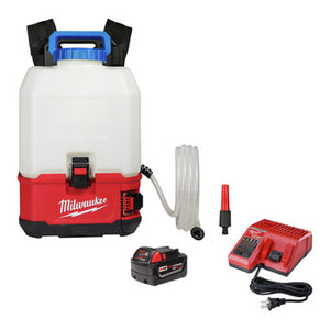 Milwaukee 2820-21WS M18™ SWITCH TANK™ 4-Gallon Backpack Water Supply Kit, (New) - ToolSteal.com