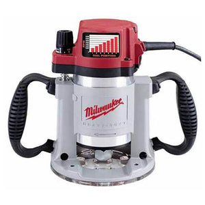 Milwaukee 3-1/2 Max HP Fixed-Base Production Router, (New)