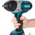 "Makita XWT04Z 18V LXT® Lithium‑Ion Cordless 1/2"" Sq. Drive Impact Wrench, [Tool Only], (Reconditioned)"