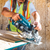 "Makita XSR01PT  18V X2 LXT® Lithium‑Ion (36V) Brushless Cordless Rear Handle 7‑1/4"" Circular Saw Kit 5.0Ah, (Reconditioned)"