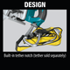 "Makita XSR01PT-R 18V X2 LXT® Lithium‑Ion (36V) Brushless Cordless Rear Handle 7‑1/4"" Circular Saw Kit 5.0Ah, (Reconditioned) - ToolSteal.com"