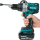 "Makita XPH07MB 18V LXT® Lithium‑Ion Brushless Cordless 1/2"" Hammer Driver‑Drill Kit (4.0Ah), (Reconditioned)"