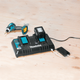 Makita DC18RD-R 18V LXT® Lithium‑Ion Dual Port Rapid Optimum Charger, (Reconditioned) - ToolSteal.com