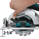 "Makita XSS02Z-R 18V LXT® Lithium‑Ion Cordless 6‑1/2"" Circular Saw, [Tool Only], (Reconditioned) - ToolSteal.com"
