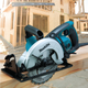 "Makita 5477NB 15 Amp 7‑1/4"" Hypoid Saw, (Reconditioned)"