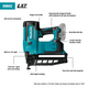 "Makita XNB02Z-R 18V LXT® Lithium‑Ion Cordless 2‑1/2"" Straight Finish Nailer, 16 Ga., [Tool Only], (Reconditioned) - ToolSteal.com"