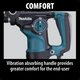 Makita HR2811F 1‑1/8'' Rotary Hammer, Accepts SDS‑PLUS bits, (Reconditioned) - ToolSteal.com
