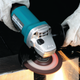 "Makita 9557PB-R 4‑1/2"" Paddle Switch Angle Grinder with AC/DC Switch, (Reconditioned) - ToolSteal.com"