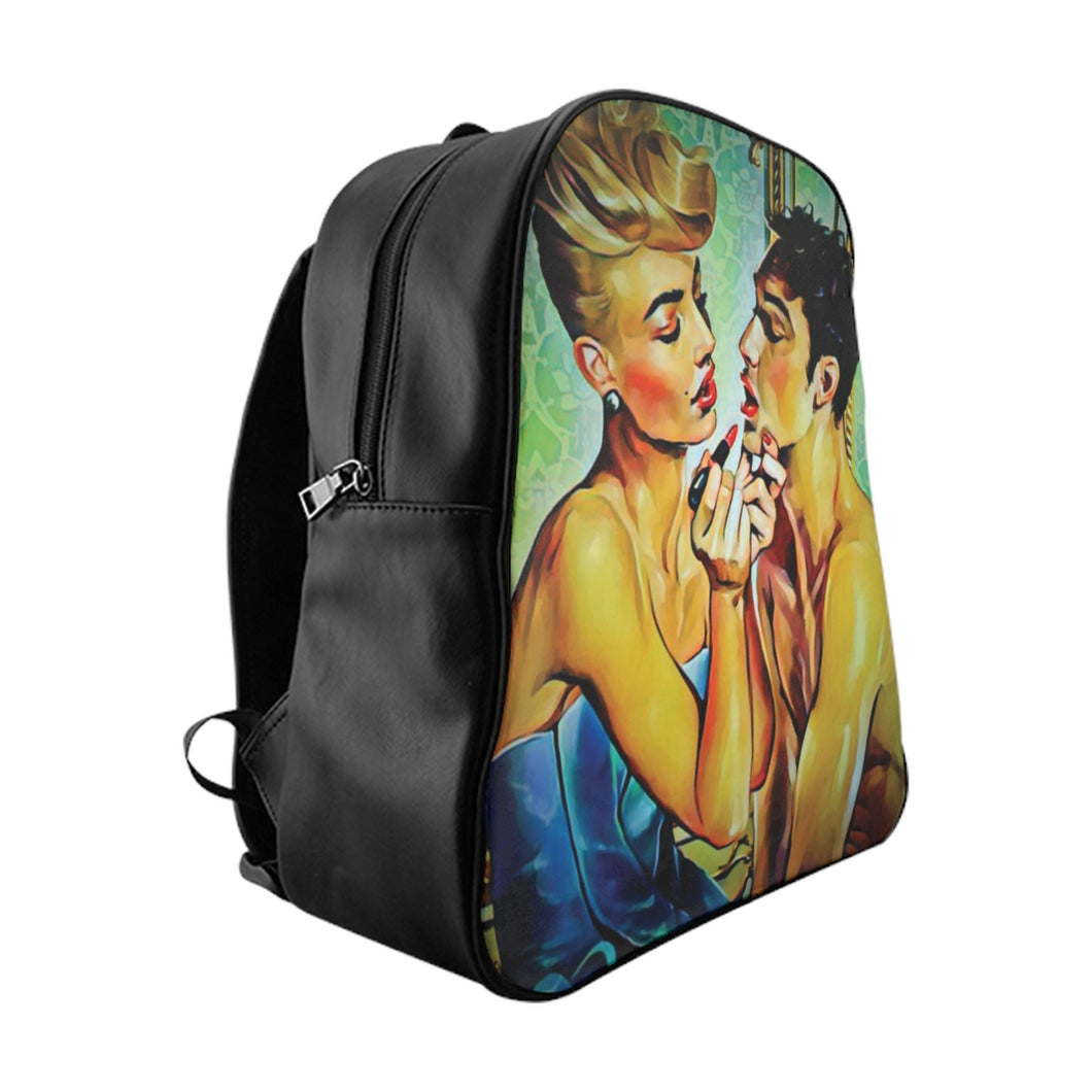 LGBT Drag Lipstick Love Backpack