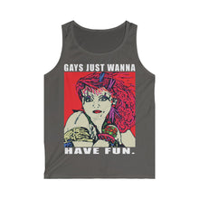 Load image into Gallery viewer, LGBT Gays Just Wannna Softstyle Tank Top