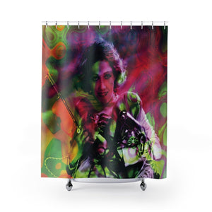 Tool Lady Shower Curtain