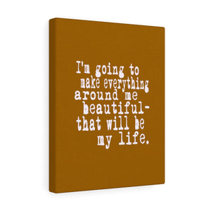 Beautiful Life Canvas