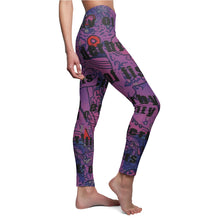 Load image into Gallery viewer, Roller Derby Leggings