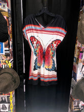 Load image into Gallery viewer, Elastic Waist Butterfly Shirt