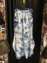 Load image into Gallery viewer, Blue Tie Dye Pants