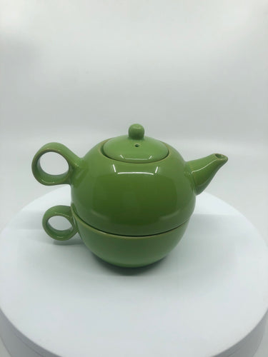 Convertible Teapot and Teacup