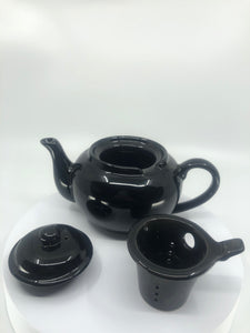 Black Infuser Teapot