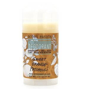 Bodhi Basics Patchouli + Sweet Orange Deodorant